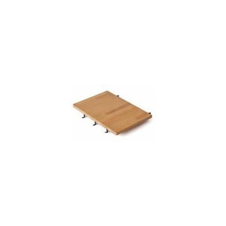 SUNDAY - Tablette latérale en bois avec porte-43, pour les modèles ONE