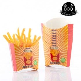 BBQ CLASSICS - Ensemble de boîtes pour Frites (Pack de 8)