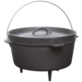 BARBECOOK - Cocotte en fonte 0.7 Litres pour Barbecue Junko